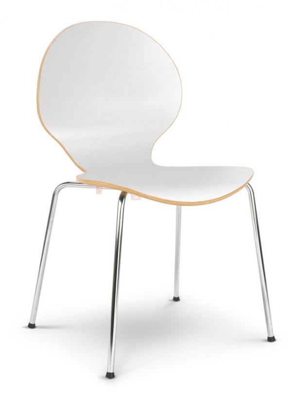 emil stuhl wei. Black Bedroom Furniture Sets. Home Design Ideas