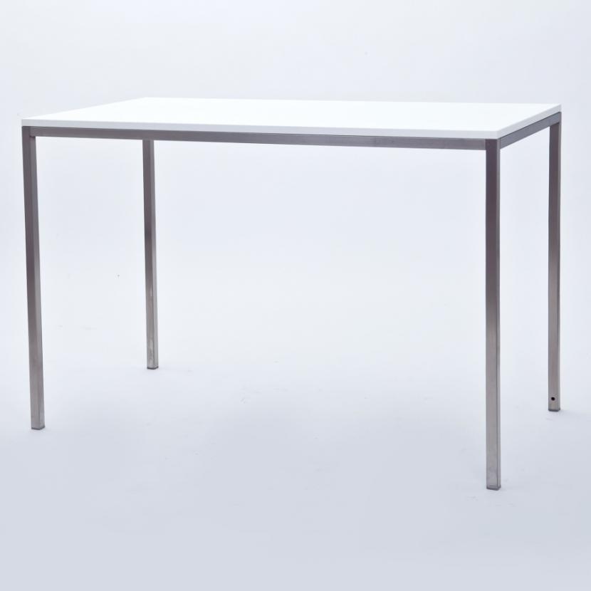 esstisch niro gr e 80 x 120 cm platte wei. Black Bedroom Furniture Sets. Home Design Ideas